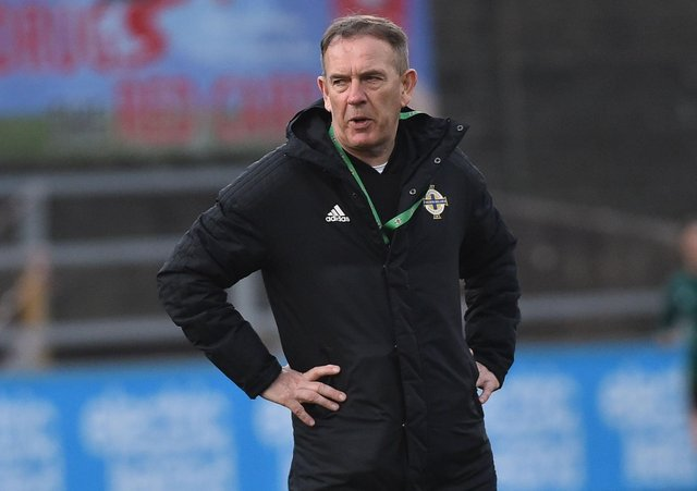 Northern Ireland senior women's manager Kenny Shiels. Pic by Pacemaker.
