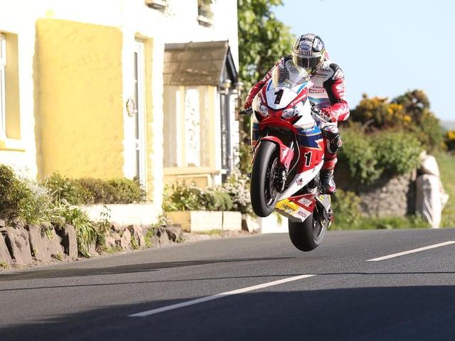 John McGuinness has won 23 races at the Isle of Man TT.