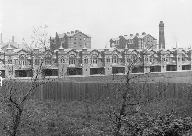 Royal Victoria Hospital in Belfast. NLI Ref.: L_CAB_04203. Picture: National Library of Ireland