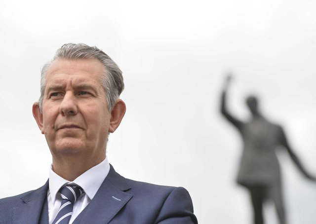 DUP Leader Edwin Poots says peace could be at risk. Mark Marlow/PA Wire