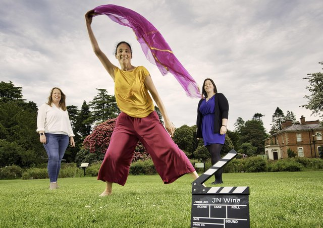 Joanna Sterling, Business Support Manager, JN Wine, Charmaine McBride, Performing Arts Tutor, Helen Coburn, Youth Worker