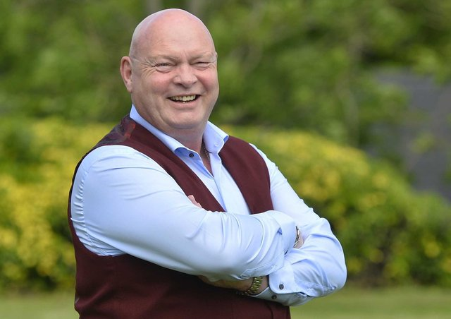 Ballymena United manager David Jeffrey who has been awarded an MBE for services to Association Football and Community Relations in Northern Ireland