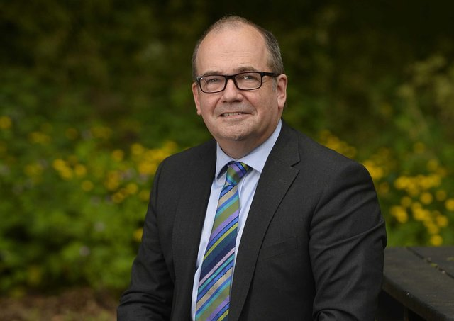 Chief Medical Officer for Northern Ireland Dr Michael McBride who has been made a Knight for services to Public Health in Northern Ireland in the Queen's Birthday Honours List.