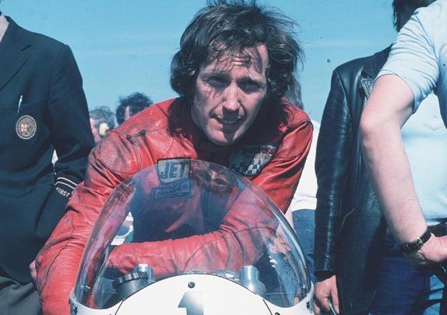 Irish road racing legend Ray McCullough.