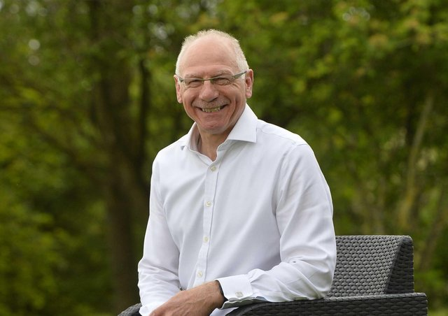 Former rugby international Nigel Carr who has been awarded an MBE for services to sport and community relations in Northern Ireland