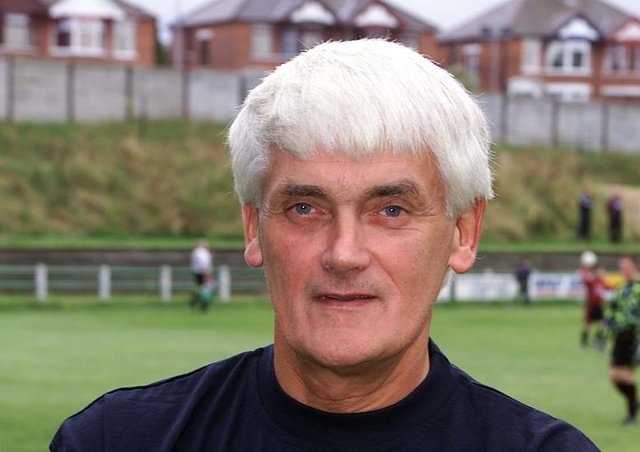 Former Dundela player and manager Mervyn Bell, who died on Saturday at the age of 78