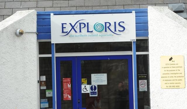 Exploris aquarium in Portaferry