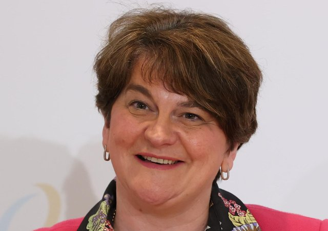 Former First Minister Arlene Foster. Photo: Liam McBurney/PA Wire