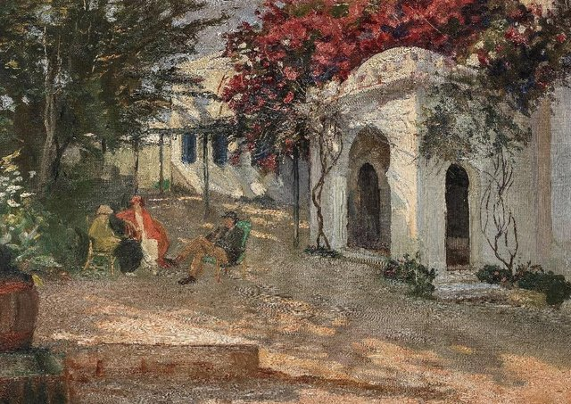 In Morocco by Sir John Lavery