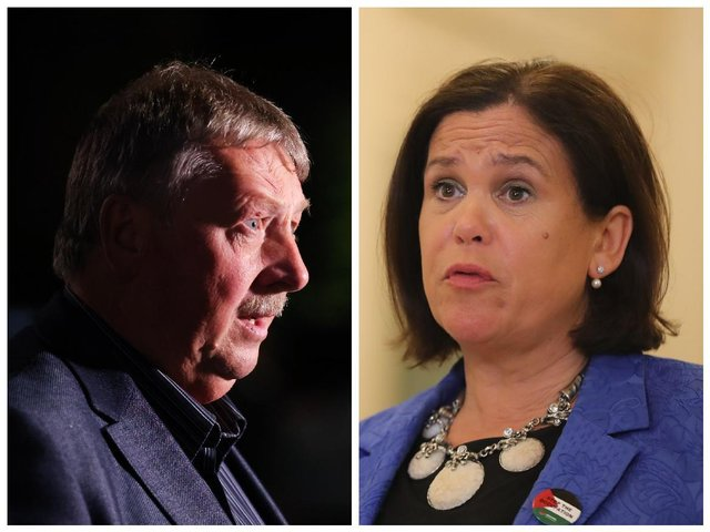 Sammy Wilson's comments came after Sinn Fein called on Northern Ireland Secretary Brandon Lewis to take on responsibility for passing the legislation at Parliament. Mary Lou McDonald made the request amid a stand-off on the language issue that potentially threatens the future of powersharing