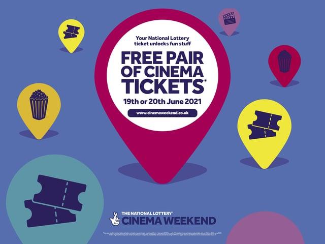 Free tickets to cinemas across Northern Ireland