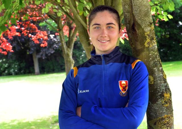Clounagh Junior High School Year 10 pupil, Erin Wall. INPT24-209.
