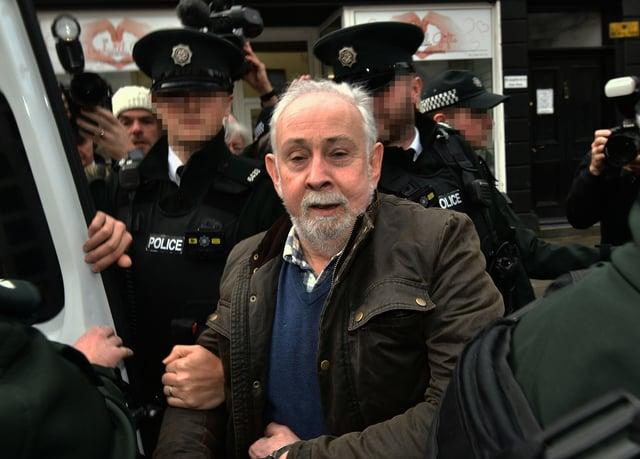 John Downey at an earlier court appearance