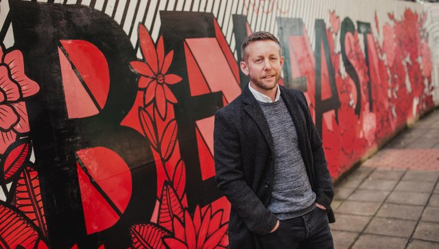 Dave Cordner,Founder and Managing Director of  Central Belfast Apartments