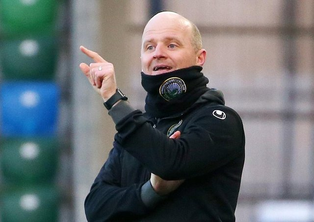 Warrenpoint Town manager Barry Gray. Pic by PressEye Ltd.
