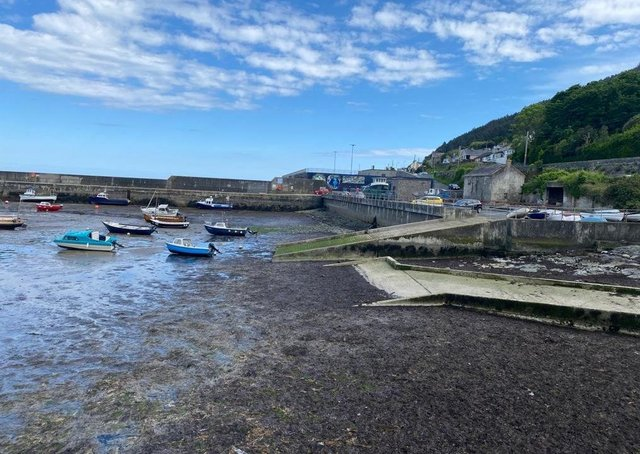 The state of pier at Newcastle raised in the House of Commons by South Down MP  Mr Michael McCartan. Picture: Ruth Rodgers