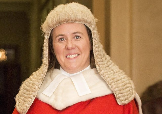 Mrs Justice Siobhan Keegan QC. Photo credit: NI Judicial Appointments Commission/PA Wire