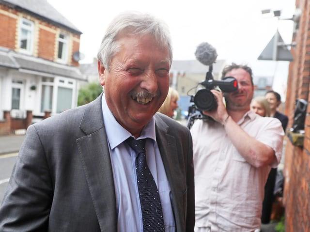 DUP MP for East Antrim, Sammy Wilson.