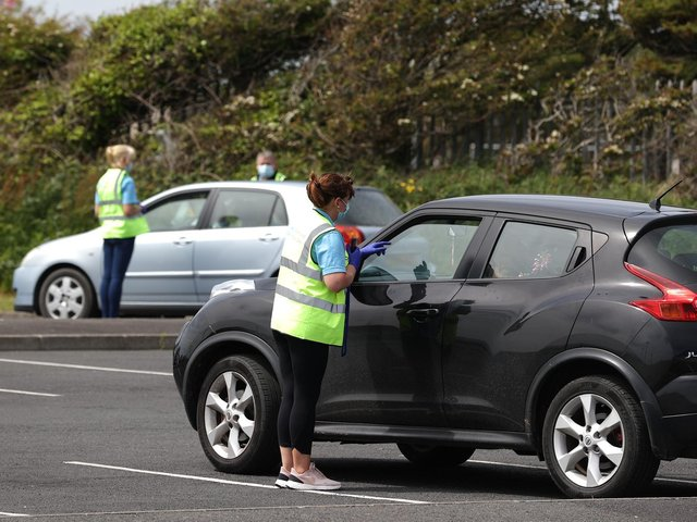 Surge testing in Kilkeel a few weeks ago when the PHA detected an outbreak of the Delta variant there.