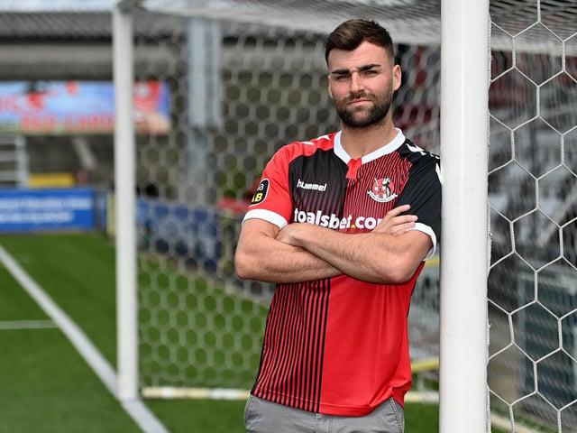 New Crusaders striker Johnny McMurray