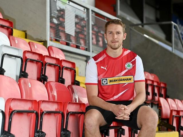 New Cliftonville signing Jonny Addis
