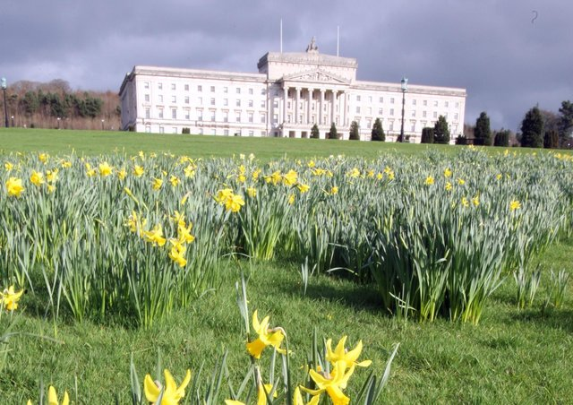 Stormont as it is in 2021, a century after the creation of Northern Ireland
