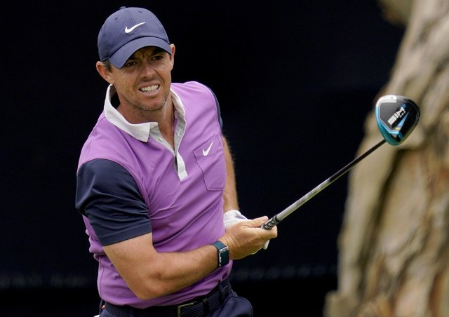 Rory McIlroy at the US Open. Pic by PA.
