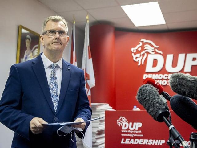 Sir Jeffrey Donaldson.