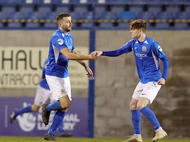 Colin Coates looks set to leave Glenavon