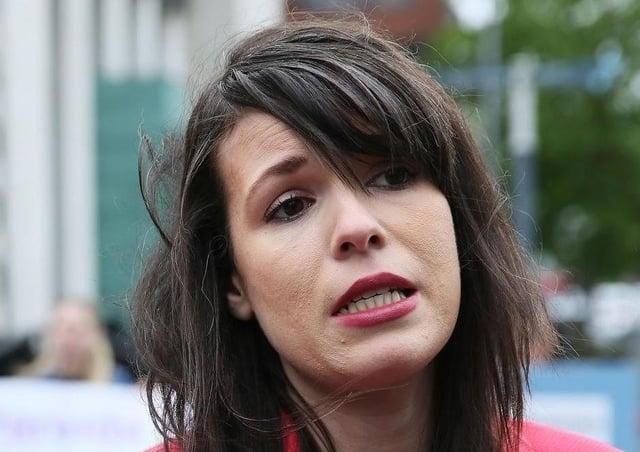 Grainne Teggart of Amnesty International.
