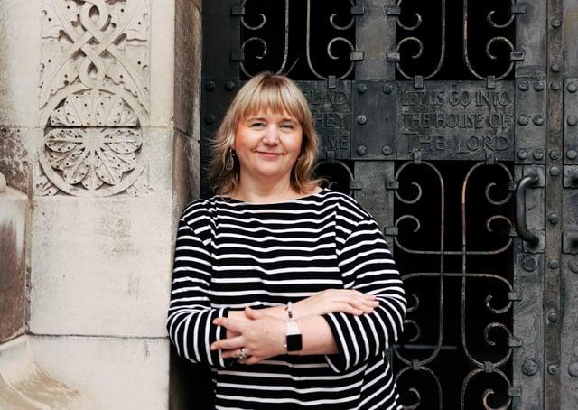Susan Picken, director of Cathedral Quarter Trust & Culture Night Belfast