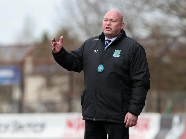 Ballymena United boss David Jeffrey