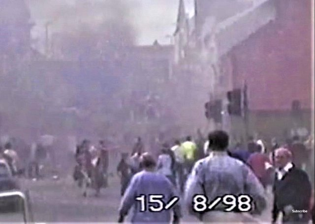 Some of the Omagh bomb aftermath footage (from ITV)