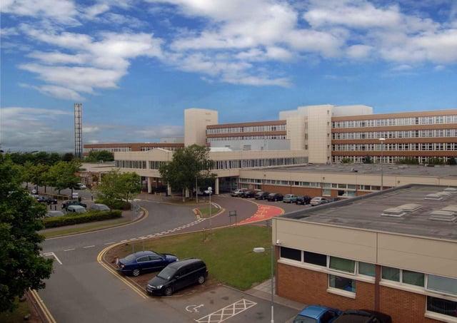 Craigavon Area Hospital.