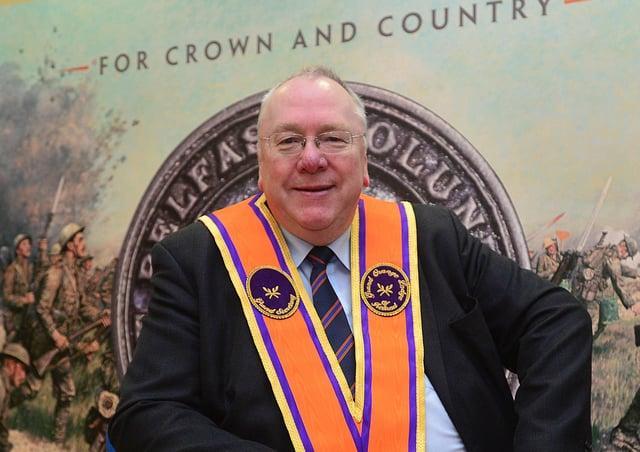 Orange Order grand secretary Mervyn Gibson. Picture: Arthur Allison/Pacemaker Press.