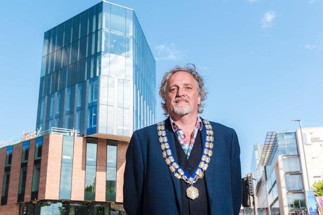 President of Belfast Chamber, Michael Stewart