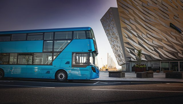 Wrightbus launches rapid-charge double deck