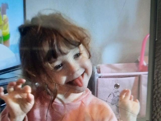 FOUND - Little four year-old Scarlet Duddy.