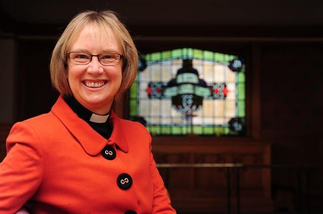 The Methodist Church in Ireland's General Secretary Rev Dr Heather Morris.Photo: Arthur Allison.