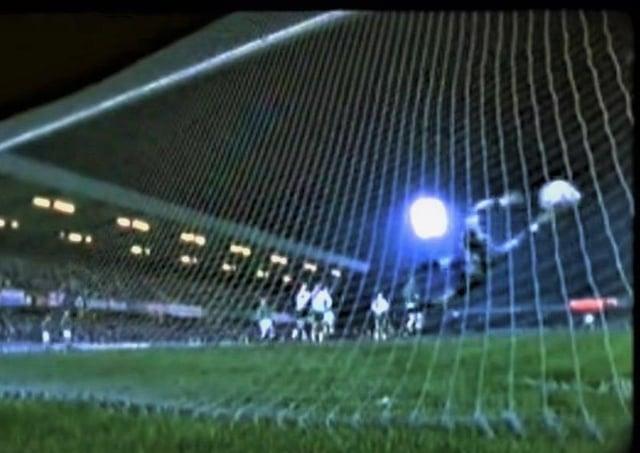 The RoI scoring against NI on November 17, 1993