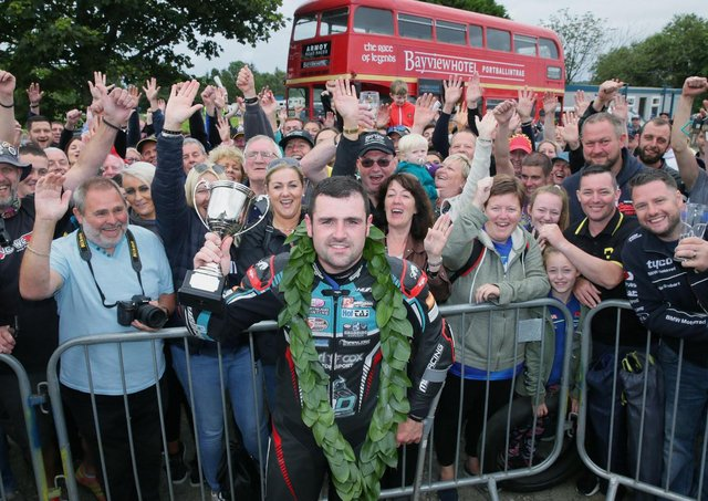 Spectators will be looking forward to the Armoy Road Races at the end of July, where Michael Dunlop is the local hero.