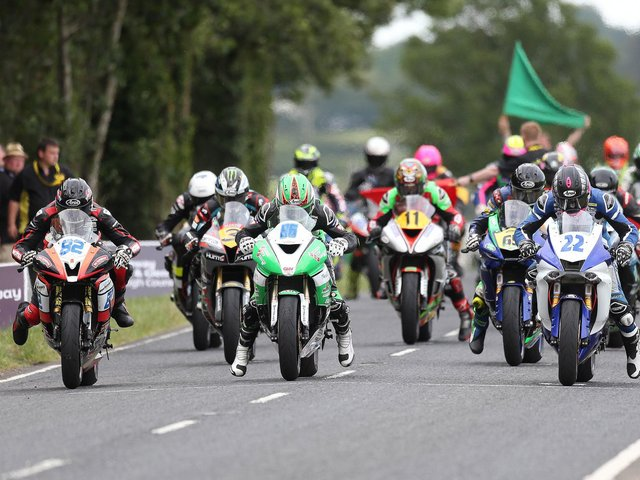 This year's Armoy Road Races will take place from July 30-31.