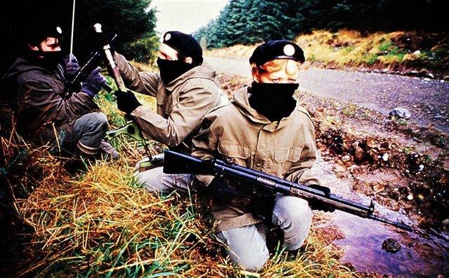 IRA volunteers on a training mission in 1989. The government is believed to be in favour of ending all prosecutions for Troubles killings