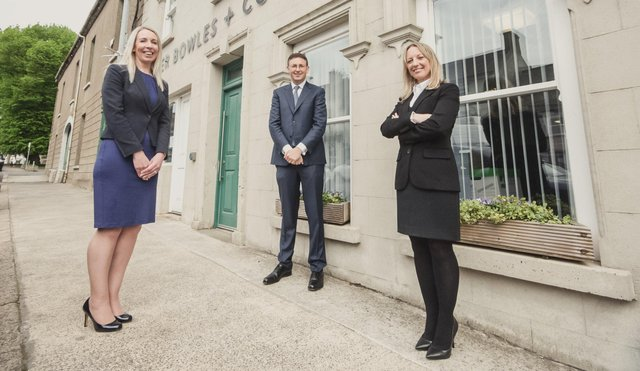 Catherine Heyes, Director and Head of Property, Peter Bowles, Managing Director and Clare Curran, Director and Head of Family Law, Peter Bowles and Co Solicitors