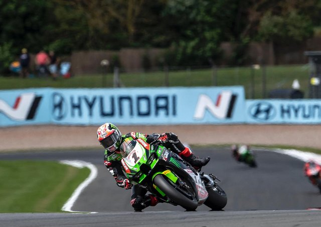 Jonathan Rea had a win, runner-up finish and a DNF at his home round of the World Superbike Championship.