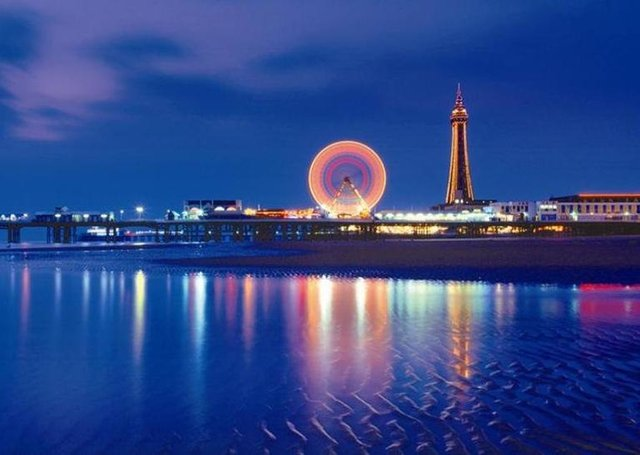 Blackpool's famous Illuminations