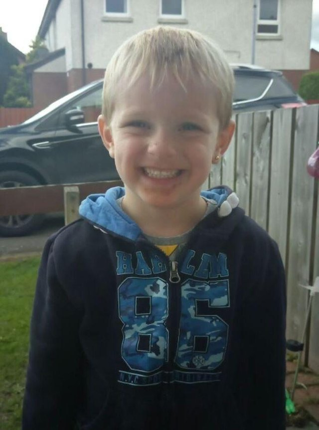 Kai Corkum was killed after being hit by the defendant's VW Golf after running into the road