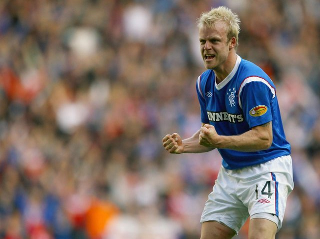 Naismith was in the Rangers side which played in the club's last Champions League qualifier in 2011-12
