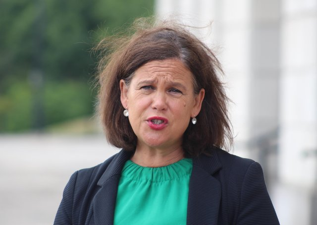 Sinn Féin leader Mary Lou McDonald said the party appointed a data protection officer following correspondence with the Republic's data regulator.