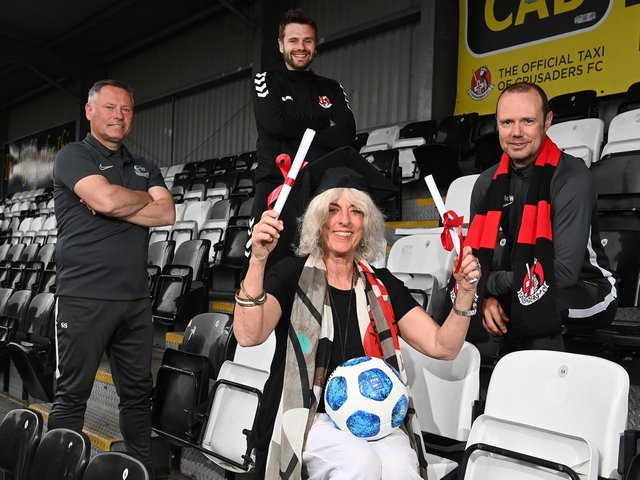 Representatives pictured at the launch of the new partnership